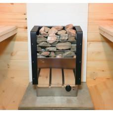 Электрическая печь (электрокаменка) «Fiva» ЭКМ-8 нерж. для сауны и бани, 8кВт