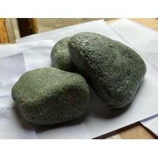 Жадеит шлифованный (галтованный), камень для электрокаменки