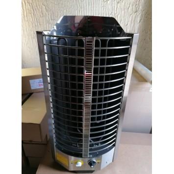 """Электрокаменка ЭКМ 6 кВт «Компакт Плюс"""" со встроенным терморегулятором и таймером"""