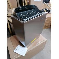 Электрокаменка ЭКМ 6 кВт LUX (нержавеющая сталь)